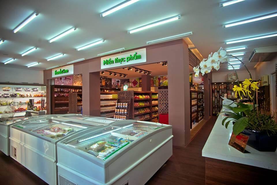 Thiết kế thi công nội thất siêu thị tại MM2