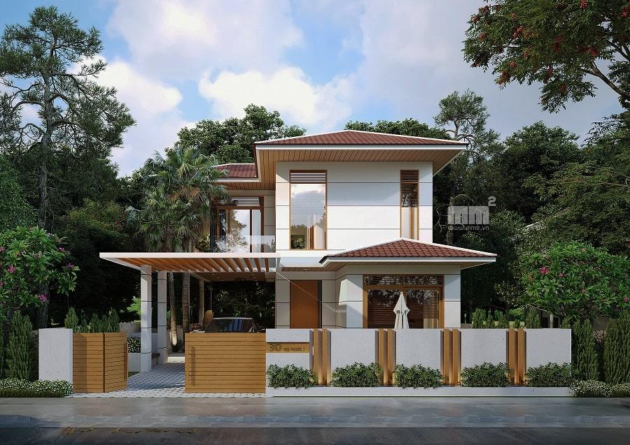 Thiết kế thi công biệt thự tại Đà Nẵng