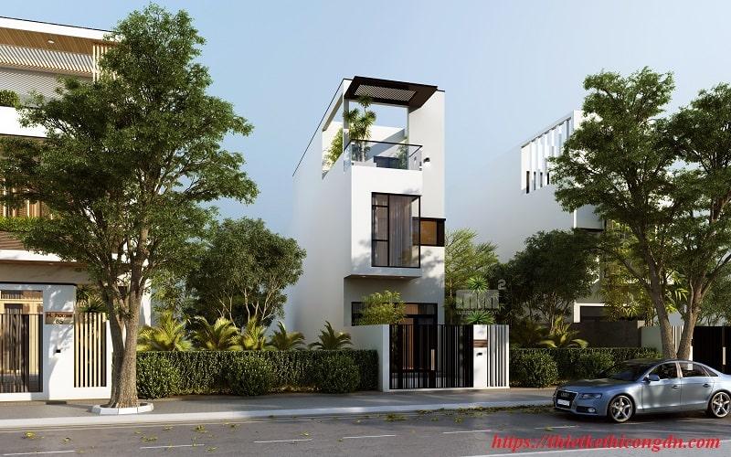 Dự án nhà phố lệch tầng tại Đà Nẵng