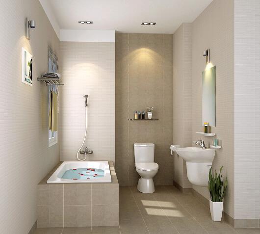 Thiết kế phòng tắm 6m2 cực đẹp và xinh