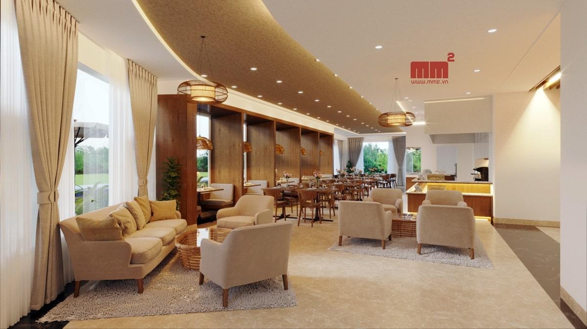 Nơi thiết kế thi công nội thất tại Đà Nẵng MM2