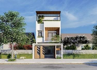 Thiết kế nhà phố Đà Nẵng MM2